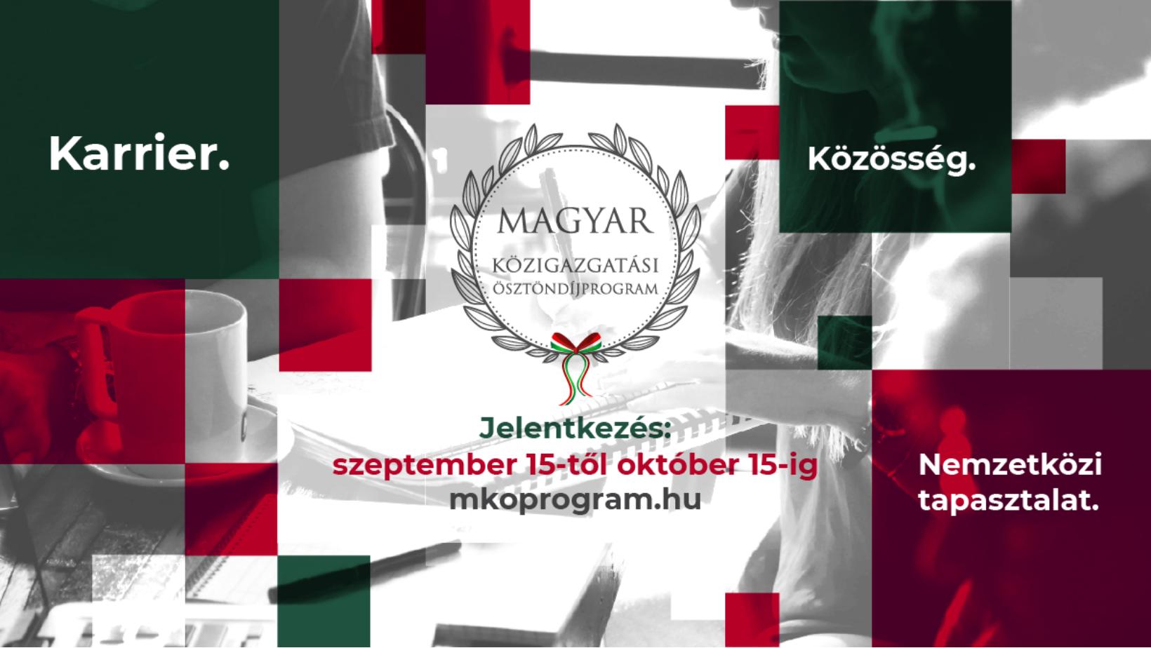 Október 15-ig lehet jelentkezni az MKÖ 2022-es évfolyamába